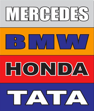Our brands include Mercedes, BWM, Honda and Tata