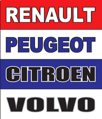 Our brands include Renault, Peugeot, Citroen and Volvo