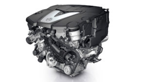 mercedes-benz-s350-engine-closeup