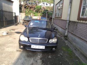 Mercedes C200k W203 Black