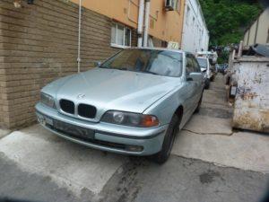 BMW 528I AUTO E39 BLUE