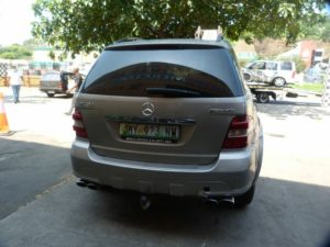 MERCEDES BENZ ML63 AUTO W164 GREY